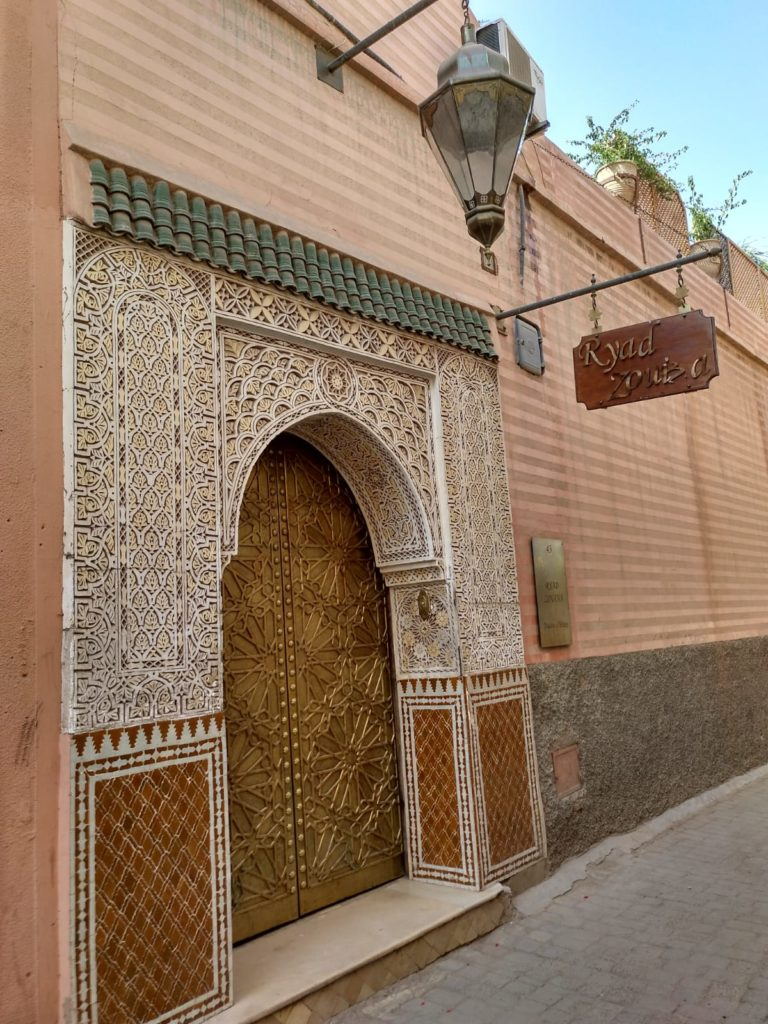 Restaurante Riad Zouba marrakech