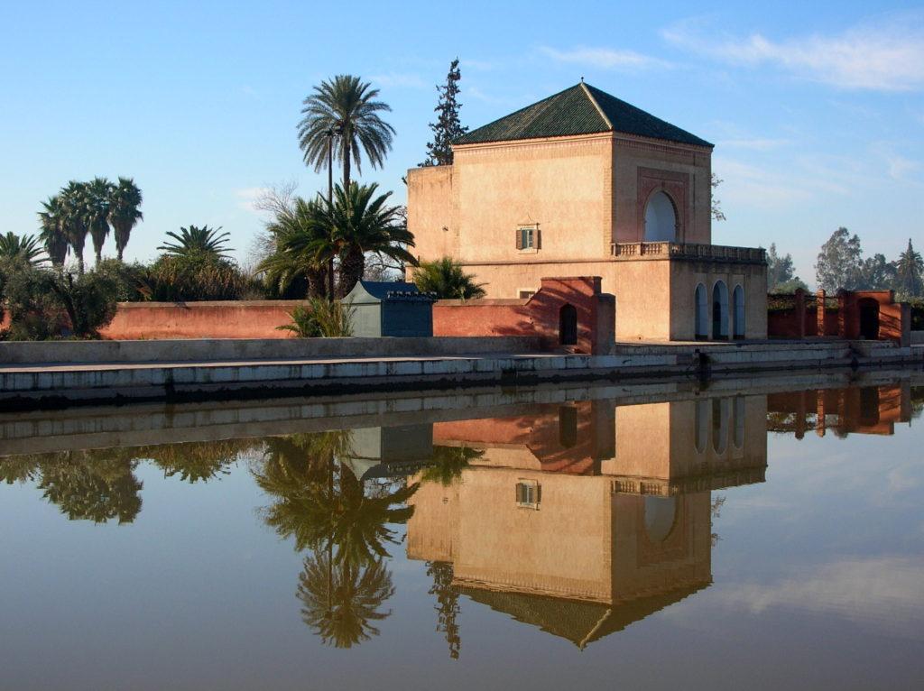 jardines de la menara marrakech